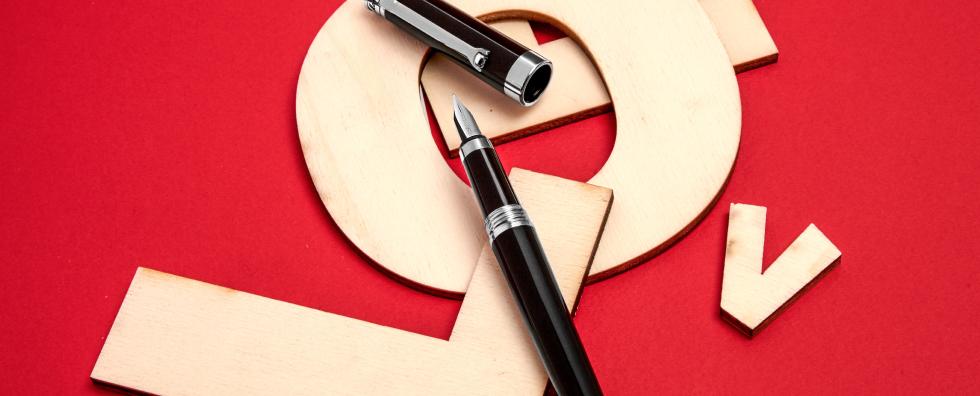 Перьевые ручки</br> Parola orizzontale
